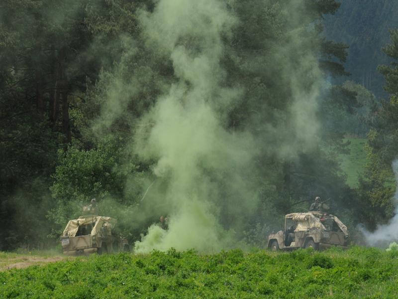 Das Jagdkommando zieht sich zurück © Strobl