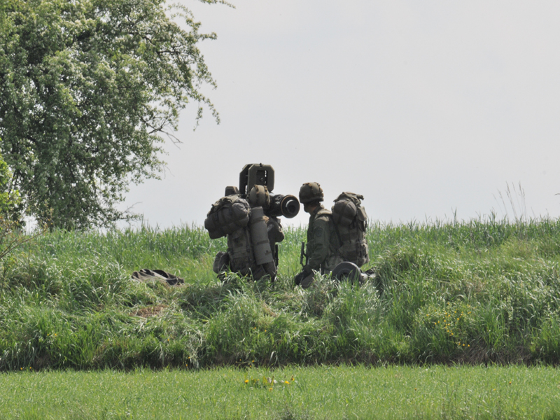 Der PAL-Trupp geht sofort in Stellung © Strobl
