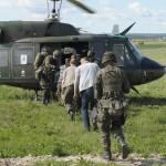 Die Evakuierung erfolgt ebenfalls per Helikopter © Hainzl