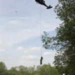 Eine andere Methode ist die Special Patrol Insertion/Extraction (SPIE) © Simader
