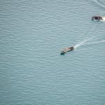 Diesmal wurden die Kampfschwimmer gleich nach der erfolgreichen Landung wieder eingesammelt und müssen den Übungseinsatz nicht schwimmend, per Boot oder tauchend fortsetzen. © Gorub / BMLVS