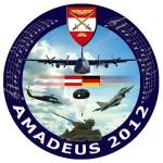 Das Logo der Übung AMADEUS 2012 © Bundesheer