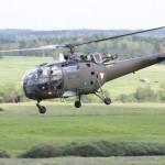 Ein Schwerverletzter wird mit einer Alouette III ausgeflogen © Doppeladler.com