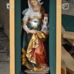 Die heilige Barbara ist die Schutzpatronin der Artillerie und darf an einem solchen Tag nicht fehlen © Doppeladler.com