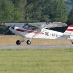 082 - Piper PA-18-150 Super Cub der Heeresflugsportgruppe Habicht mit der zivilen Kennung OE-AFE (ex 2A-AW des Bundesheeres)