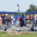 081 - Zivile Cessna 182P Skylane der in Langenlebarn angesiedelten Heeresflugsportgruppe Habicht mit der Kennung OE-DIP. Vor und nach der Airshow konnte man vom Fliegerhorst aus zu kleinen Rundflügen starten.