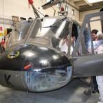 039 - Auch die am Fliegerhorst angesiedelte Bundesfachschule für Flugtechnik öffnete ihre Pforten - dahinter diese Agusta Bell AB-204 - ex 4D-BK
