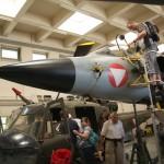 041 - Flaggschiff der Flotte der Bundesfachschule ist der Saab J-35Oe Draken Mk. II Nummer 10.