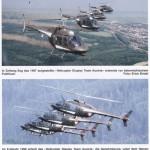 """Beispielfotos: Das Helikopter-Kunstflug-Staffel """"Kleeblatt"""" - mehr dieser Aufnahmen von Erich Strobl gibt es im Luftwaffenprofil"""