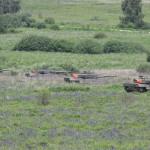 Der erste Kampfpanzerzug erreicht sein Zwischenziel und geht dort in Stellung, um den Angriff der Schützenpanzer zu decken © Doppeladler.com