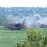 Zielgenaues Feuer aus den 15,5 cm Panzerhaubitzen M-109A5Ö © Doppeladler.com