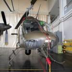019 - Bell OH-58B Kiowa 3C-OJ mit FLIR Turm unter dem Rumpf.