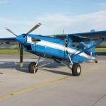 072 - Pilatus PC-6 B2-H4 Turbo Porter mit der Kennung 3G-EN (ex OE-BIA) trägt auch im 8. Jahr immer noch den Anstrich des Innenministeriums.