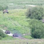Unter dem Schutz der Leoparden gehen die Panzerpioniere vor © Doppeladler.com
