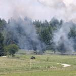 Die Sprengung einer Gasse durch das Minenfeld war erfolgreich © Doppeladler.com