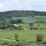 Die 12 cm Granaten der GrW 86 schlagen im Zielgebiet ein © Doppeladler.com