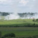 Die schweren Granatwerfer feuern Nebelgranaten, um den Feind die Sicht auf die nächste Phase der Operation zu verschleiern © Doppeladler.com