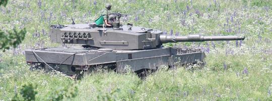 Kampfpanzer Leopard 2 A4 der Kampfgruppe 35 © Doppeladler.com