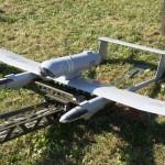 Bei Übungen wie der EURAD 10 brachten die Gäste SUAV nach Österreich - hier ein französisches UAV Tracker / DRAC von EADS © Doppeladler.com