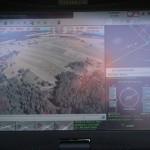 Blick auf den Datenstream der französischen Tracker / DRAC Drohne © Doppeladler.com
