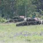 Die Schützenpanzer erreichen Kühbach. Außerhalb der Sichtweite sitzen die Panzergrenadiere ab und säubern das Dorf © Doppeladler.com
