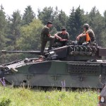 Ruhe vor dem Sturm. Schützenpanzer Ulan © Doppeladler.com