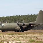 Lockheed Hercules C Mk.1P 8T-CB leistet logistische Unterstützung für das österreichische Kontingent © Hot Blade