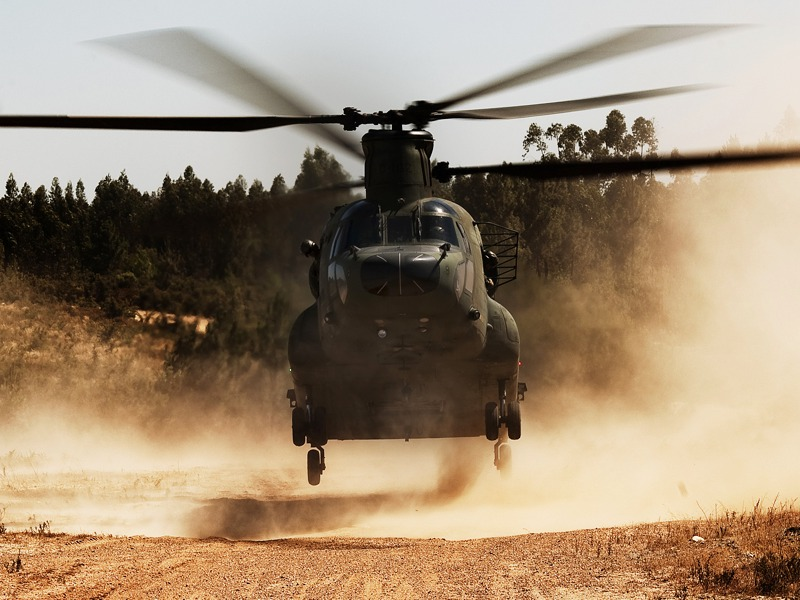 Boeing CH-47D Chinook © Gorub