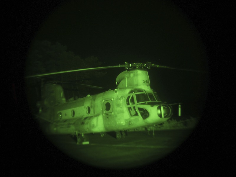 Boeing CH-47D Chinook © Hot Blade