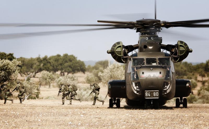 Sikorsky CH-53G 84+80 © Gorub