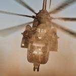 Powerstart der Sikorsky CH-53G 84+80 © Gorub