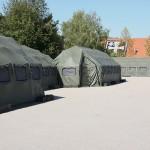 Drash-Zelte am Gelände der Raab-Kaserne der 3. Panzergrenadierbrigade © Doppeladler.com