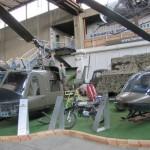 Hubschraubertypen AB-204 (links) und AB-206 (rechts) © HGM