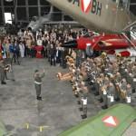 Eröffnung der Ausstellung für Militärluftfahrt am 5. Juni 2012 © LuAufklESt/ZINNER Markus
