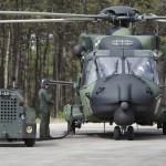 Finnland entsendete seine neuen NHIndustries NH90 TTH (Tactical Transport Helicopter) zur HOT BLADE 2012 © Hot Blade