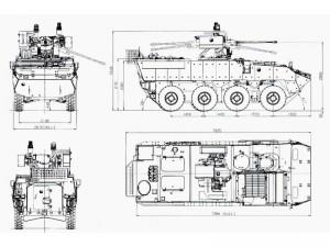 Radschützenpanzer KBVP Pandur II 8x8 CZ