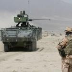 Die Pandur Radschützenpanzer gehören zu den kampfkräftigsten Fahrzeugen in diesem Teil Afghanistans © ACR