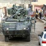 Wie bei allen modernen 8x8 Radpanzer wird es im bebauten Gebiet schnell eng © ACR