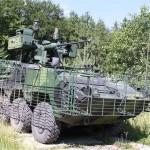 Radschützenpanzer KBVP M1 Pandur bei Probefahrten