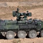 Das PRT Logar setzt auf eine gemischte Fahrzeugflotte. Hier ein Pandur und ein MRAP des Typs MaxxPro © ACR