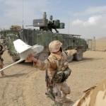 Radpanzer Pandur und Raven UAV - das tschechische ISAF Kontingent ist gut gerüstet © ACR