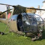 Die Alouette III wird vor allem für leichte Transportaufgaben, Bergungen und zur Schulung eingesetzt © Doppeladler.com