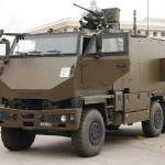Schweizer AC-Spürfahrzeug auf Basis des gepanzerten MOWAG Duro 6x6. Das Fahrzeug ist mit einem 12,7mm MG in einer Protector Waffenstation ausgestattet © Doppeladler.com