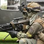 Dieser Soldat ist mit einem 40mm Anbau-Granatwerfer AG-C von Heckler & Koch ausgestattet © Doppeladler.com