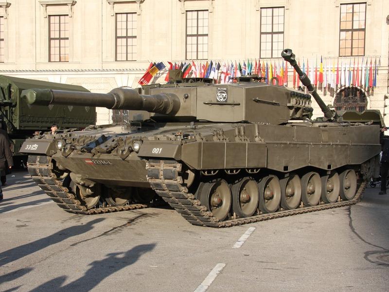 Kampfpanzer Leopard 2A4. Von den 114 Fahrzeugen wurden 58 verkauft oder stillgelegt © Doppeladler.com