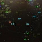 Mit dem Kreidfeuer des Systems Goldhaube lässt sich gut die aktuelle Nutzung des österreichischen Luftraums darstellen © Doppeladler.com