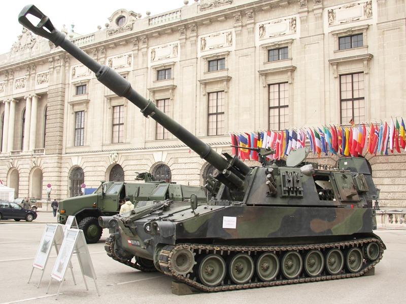 Die Panzerhaubitzen M109 A5Ö musste im letzten Jahr deutliche Einschnitte verkraften © Doppeladler.com