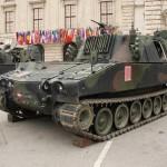 Rechenstellenpanzer M109 dienen als Kommandofahrzeuge für die Panzerhaubitzen © Doppeladler.com