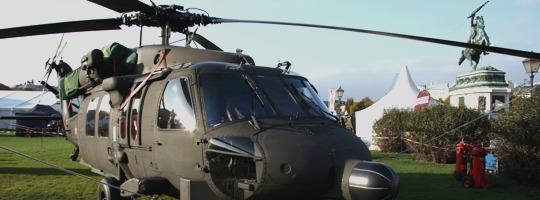 Sikorsky S-70A-42 Black Hawk am Heldenplatz © Doppeladler.com