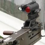 Aimpoint und Laser-Licht-Modul am überschweren Maschinengewehr M2 Browning im Kaliber 12,7 mm © Doppeladler.com